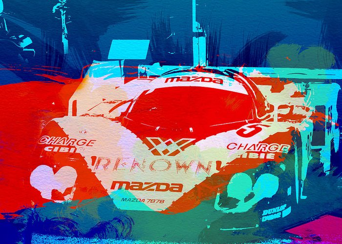 Mazda Greeting Cards