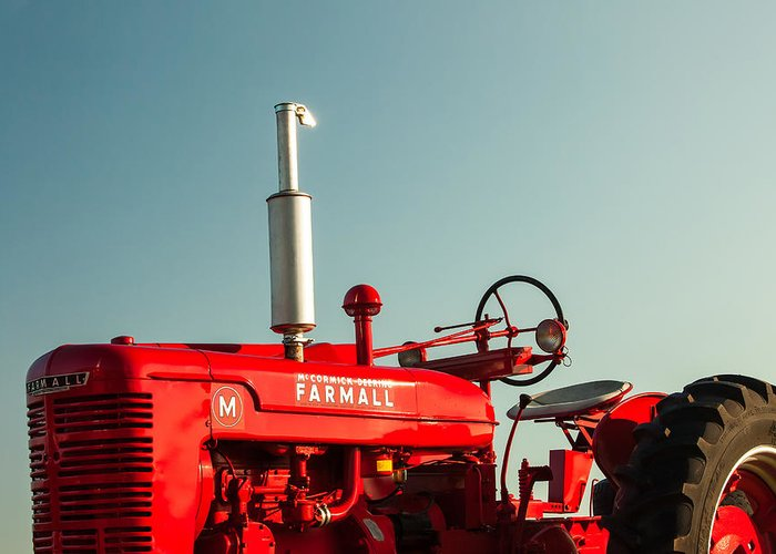Farm Machinery Greeting Cards