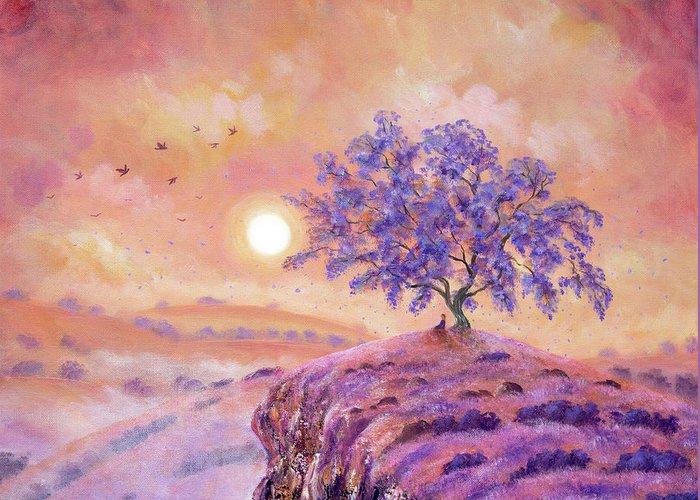 Lavender Mist Greeting Cards