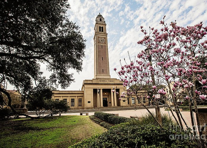 Memorial Greeting Card featuring the photograph Memorial Tower by Scott Pellegrin