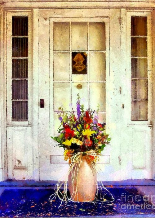 Farmhouse Greeting Card featuring the photograph Memory Lane by Janine Riley