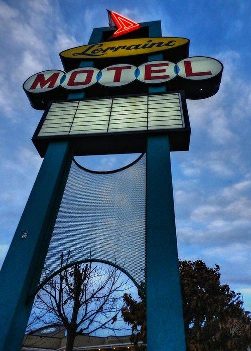 Lorraine Motel Greeting Card featuring the photograph Memphis - Lorraine Motel 001 by Lance Vaughn