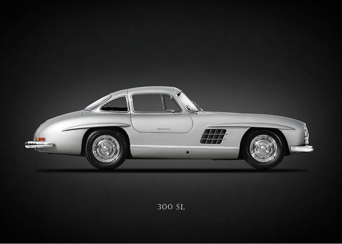 Mercedes-benz 300 Sl Greeting Cards