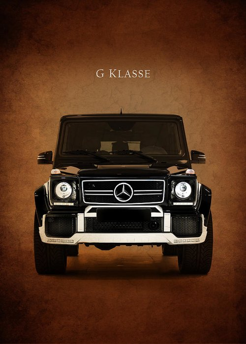 Mercedes Benz Greeting Card featuring the photograph Mercedes Benz G Klasse by Mark Rogan