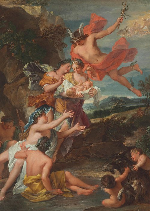 Roman Godess Greeting Cards