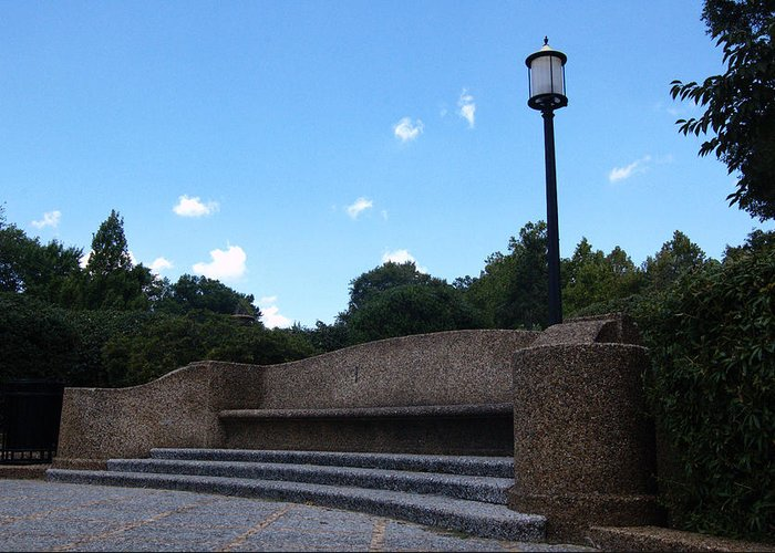 City Greeting Card featuring the photograph Meridian Hill Park Washington Dc by Wayne Higgs