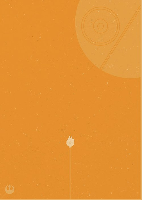 Space Ships Greeting Cards
