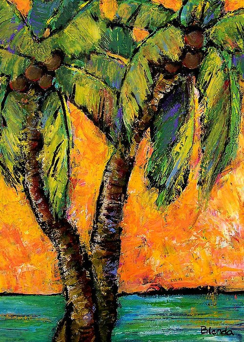 Beautifully Designed Coconut Tree Art Fine Art America