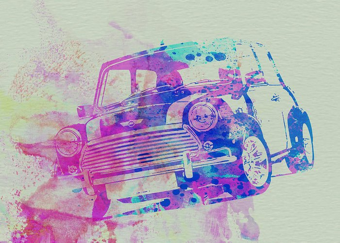 Mini Cooper Greeting Cards