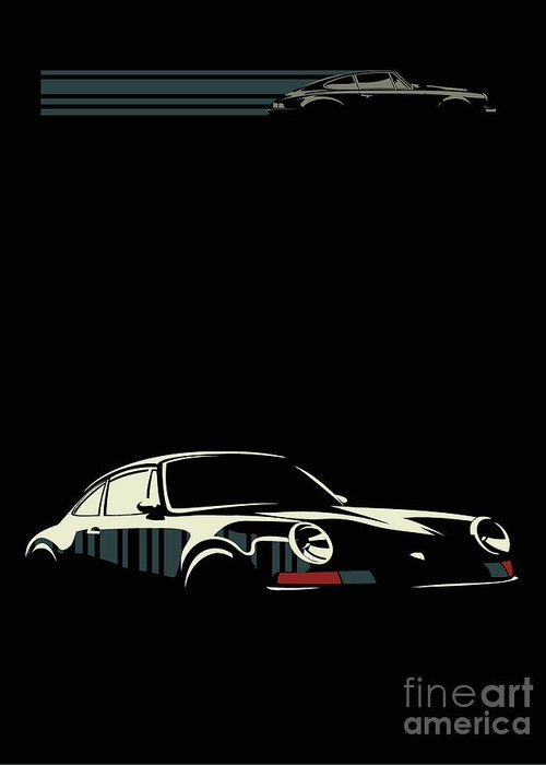 Classic Cars Greeting Cards