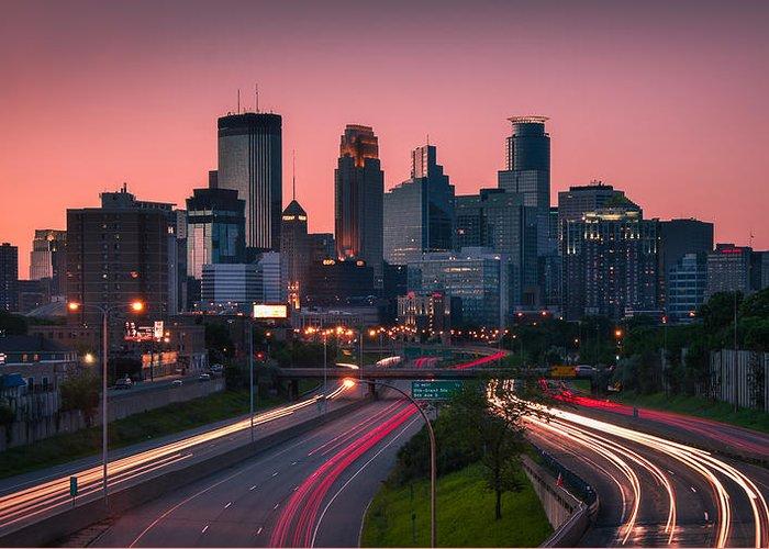 Minneapolis Skyline Greeting Cards
