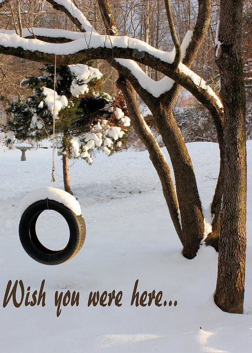 Greeting Card Greeting Card featuring the photograph Missing You by Kristin Elmquist