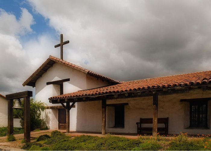 Mission Greeting Card featuring the photograph Mission San Francisco De Solano by Mick Burkey