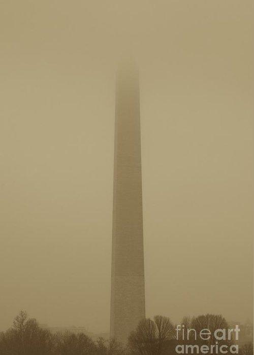 Mist Greeting Card featuring the photograph Misty Sky by Hideaki Sakurai
