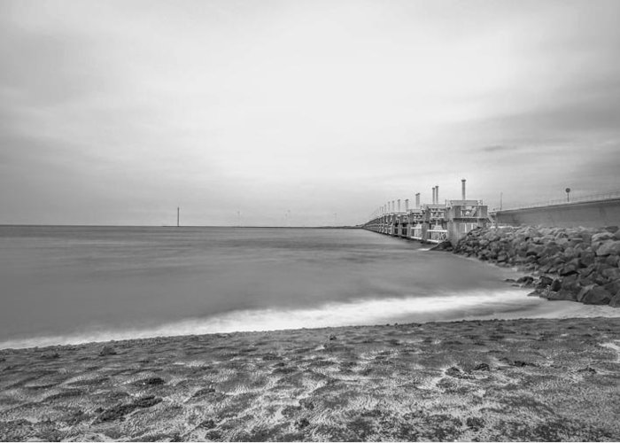Landscape Photography Greeting Card featuring the photograph Monochromatic Landscape by RONALD Duverge