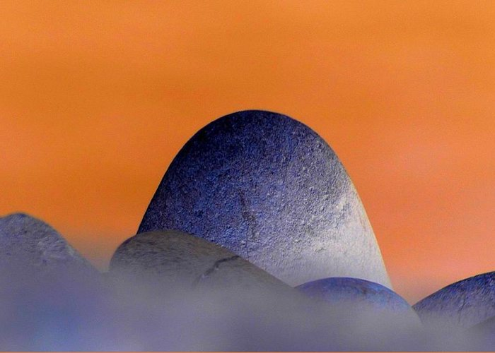 Monolith Greeting Card featuring the photograph Monolith by Lori Seaman