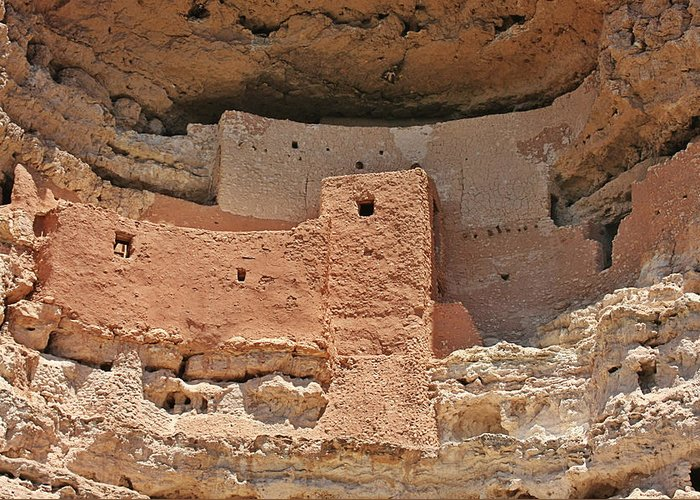 Culture Greeting Card featuring the photograph Montezuma Castle - Special In It's Own Way by Christine Till