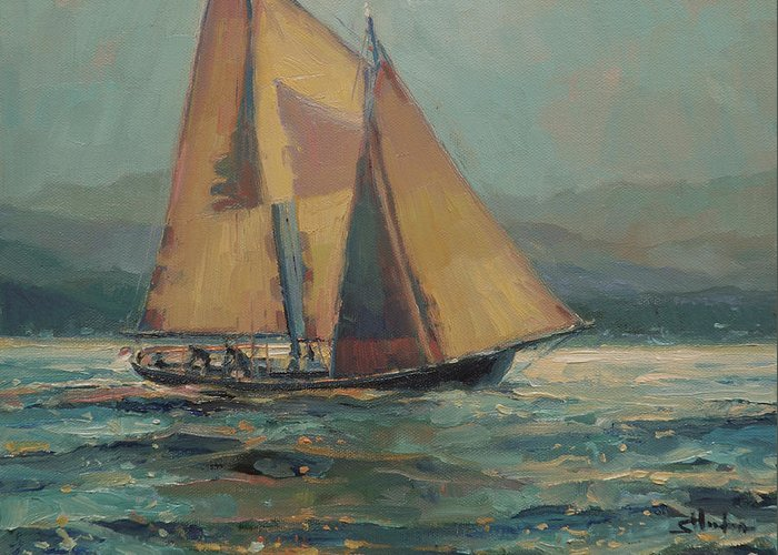 Sailing Vessel Greeting Cards