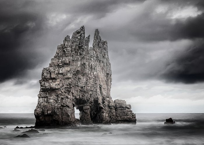 Asturias Greeting Card featuring the photograph Mordor by Evgeni Dinev