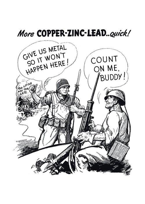 World War 2 Drawings Greeting Cards