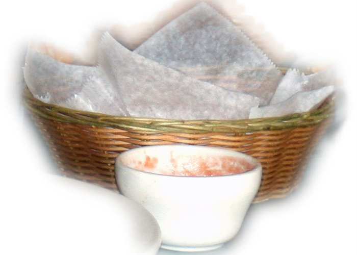 Basket Greeting Card featuring the photograph More Nachos Please by Linda A Waterhouse
