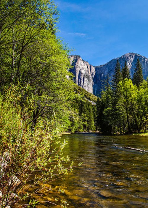 Yosemite National Park Greeting Card featuring the photograph Morning Inspirations 1 Of 3 by Az Jackson