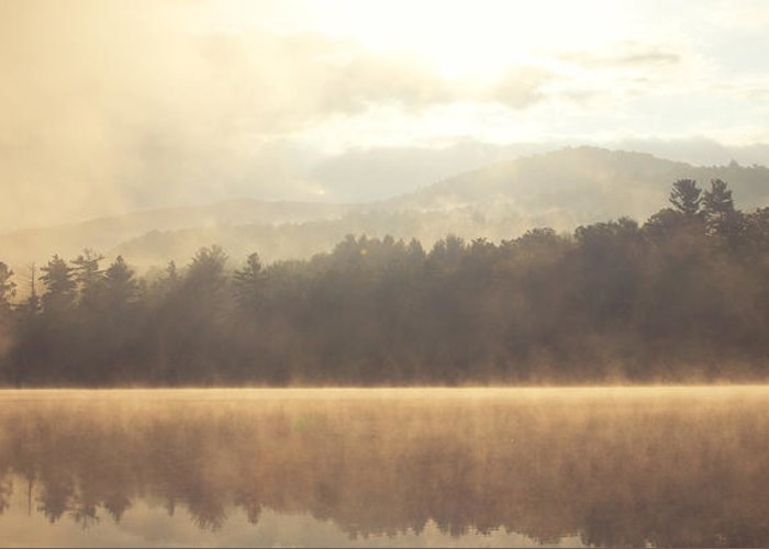 Mountains Greeting Card featuring the photograph Morning Light Over The Mountains by Stephanie McDowell