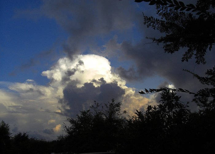 Sky Greeting Card featuring the photograph Morning Storm Approaching by Frederic Kohli
