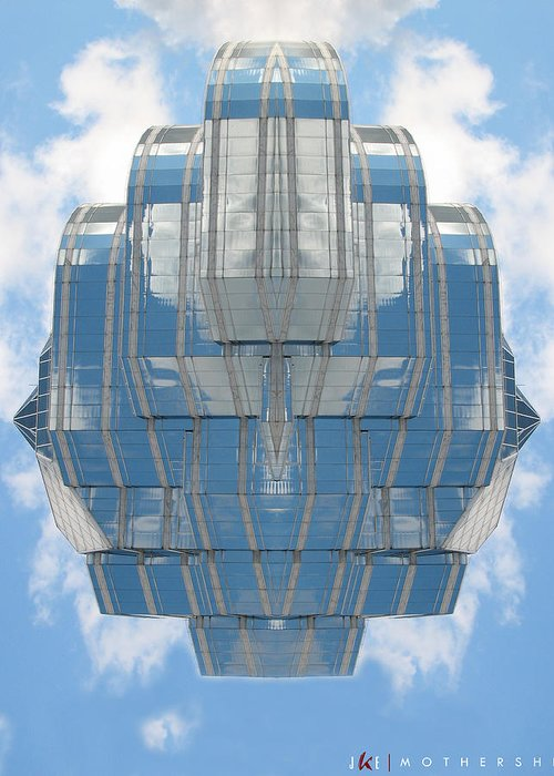 Sky Greeting Card featuring the photograph Mothership by Jonathan Ellis Keys