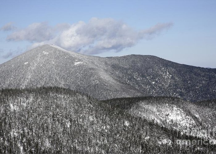 Hike Greeting Card featuring the photograph Mount Carrigain - White Mountains New Hampshire Usa by Erin Paul Donovan
