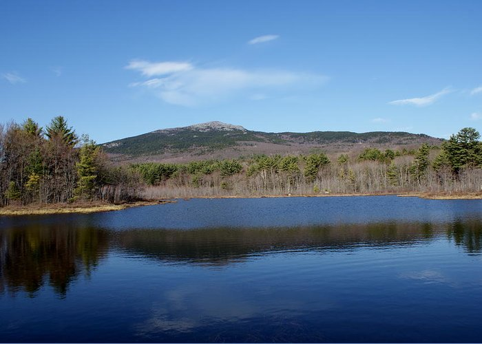New England Greeting Card featuring the photograph Mount Monadnock by Lois Lepisto
