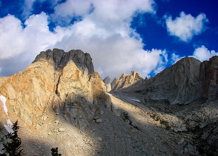 Mount Whitney Greeting Cards