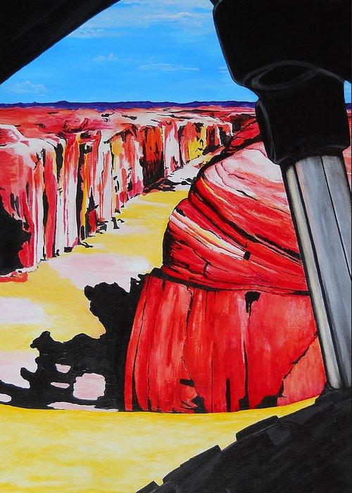 Slickrock Paintings Greeting Cards