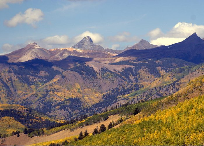 Mountains Greeting Card featuring the photograph Mountain Splendor 2 by Marty Koch