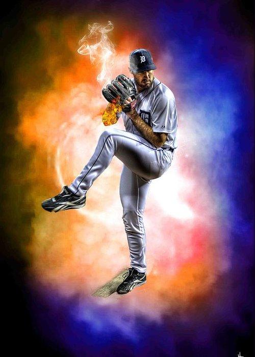 New York Baseball Parks Digital Art Greeting Cards