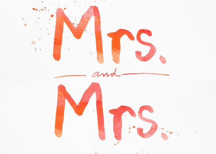 Mrs Greeting Cards
