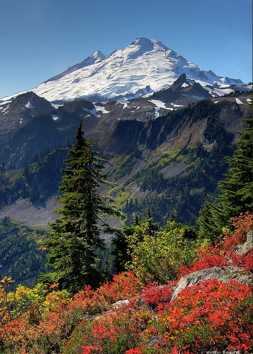 Mt Baker Greeting Cards