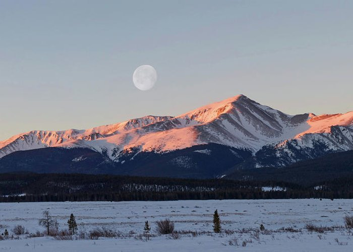 Elbert Greeting Card featuring the photograph Mt. Elbert Sunrise by Aaron Spong