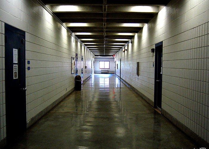 Music Greeting Card featuring the photograph Music Hallway by Gerard Yates
