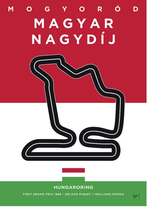 Magyar Greeting Card featuring the digital art My Magyar Nagydij Minimal Poster by Chungkong Art