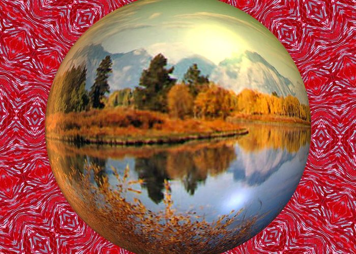 Abstract Digital Art Greeting Card featuring the photograph My World by Guillermo Mason