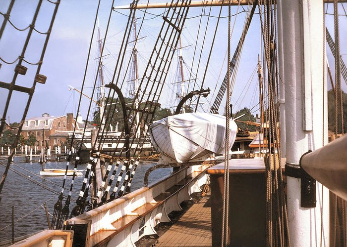 Mystic Seaport Greeting Cards