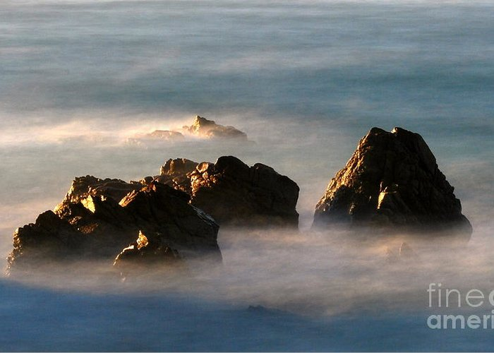 Rock Greeting Card featuring the photograph Nature by Catherine Lau