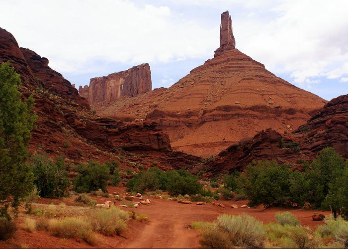 Moab Greeting Card featuring the photograph Near Moab 5 by Marty Koch