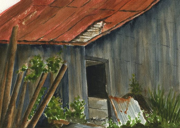 Old Relics Paintings Greeting Cards