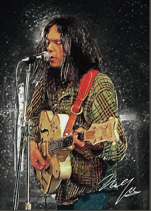 Neil Young Greeting Cards