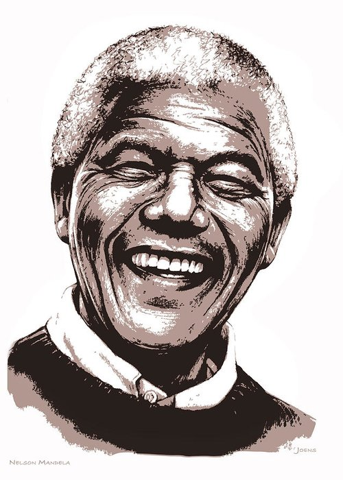 Nelson Mandela Greeting Cards