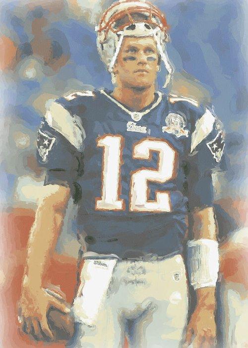 Tom Brady Art Fine Art America