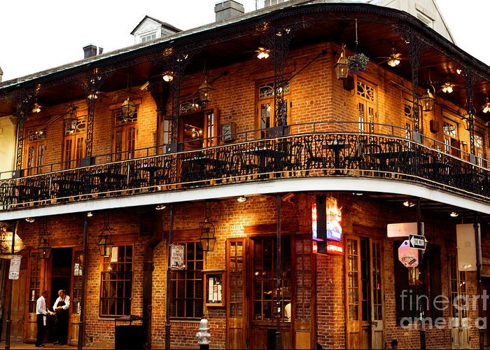 New Orleans Greeting Card featuring the photograph New Orleans And All That Jazz by Kim Fearheiley