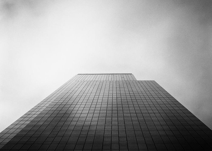New York Greeting Card featuring the photograph New York Skyscraper by John Farnan